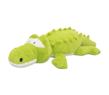 vidaXL Plush Cuddly Toy Crocodile XXL 150 cm