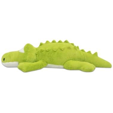 vidaXL Minkštas pliušinis krokodilas, XXL, 150 cm[2/5]