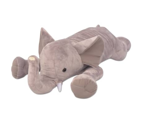 vidaXL Plush Cuddly Toy Elephant XXL 95 cm[1/4]