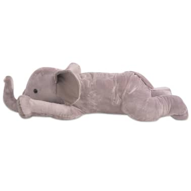 vidaXL Plush Cuddly Toy Elephant XXL 95 cm[2/4]