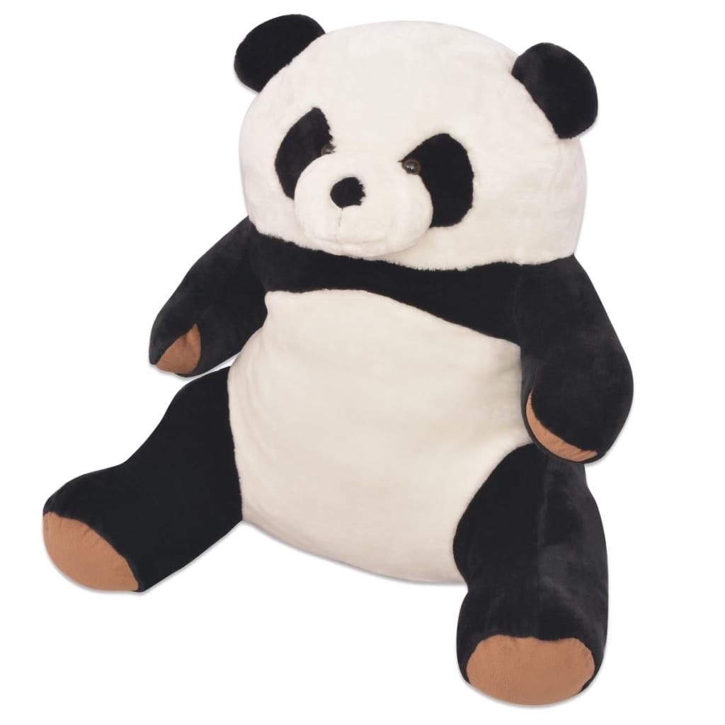 vidaXL Plyšová hračka panda XXL 80 cm