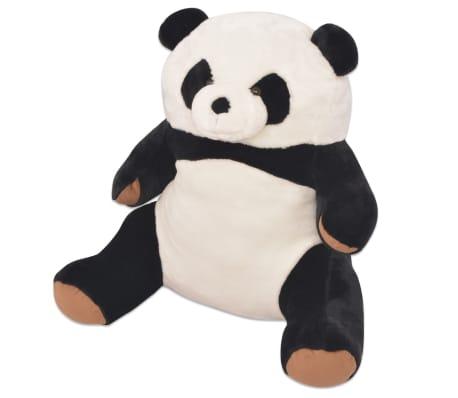 vidaXL blød panda-tøjdyr i plys XXL 80 cm