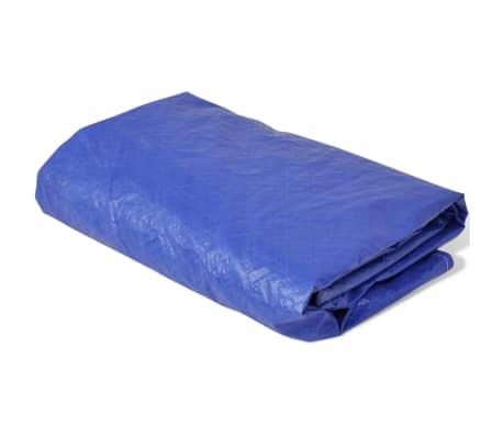 vidaXL Zwembadhoes rond 90 g/m² 540 cm PE