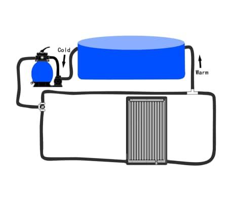vidaXL Solárny ohrev vody v bazéne, PE[9/9]