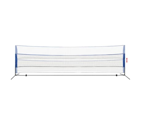 vidaXL Mreža za badminton s perjanicami 600x155 cm[3/9]