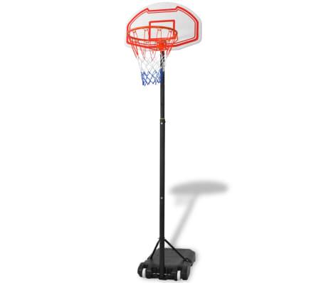 vidaXL Basketkorg med stativ flyttbar 250 cm