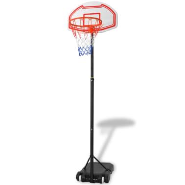 vidaXL basketbola grozs, 210 cm, pārvietojams[1/5]
