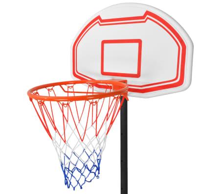 vidaXL basketbola grozs, 210 cm, pārvietojams[3/5]