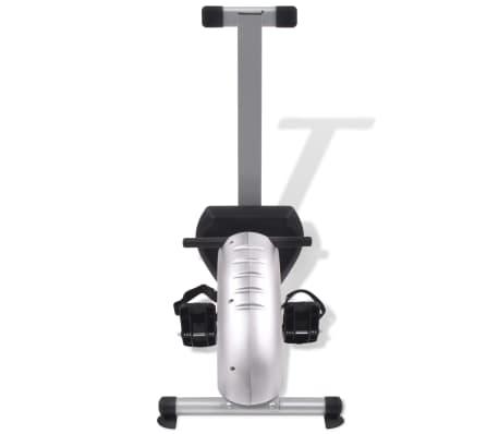 vidaXL Roeiapparaat 4,5 kg vliegwiel magnetische weerstand 8 niveaus[5/8]