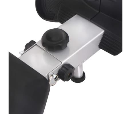 vidaXL Roeiapparaat 4,5 kg vliegwiel magnetische weerstand 8 niveaus[7/8]
