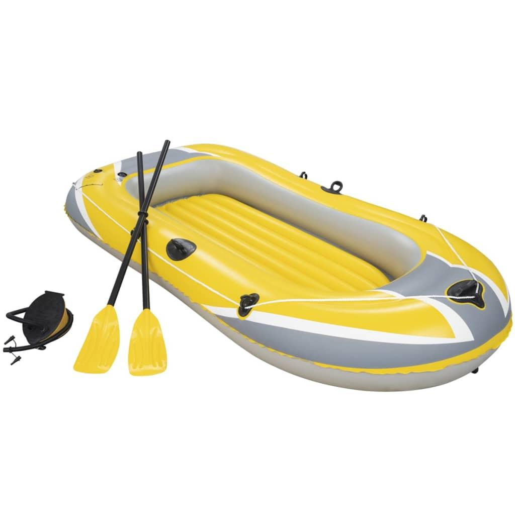Bestway Barcă pneumatică Hydro-Force cu vâsle și pompă, 61083 poza vidaxl.ro