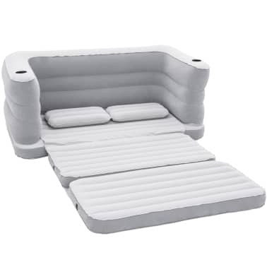 Bestway sof cama inflable 2 personas multi max ii 75063 for Sofa cama inflable