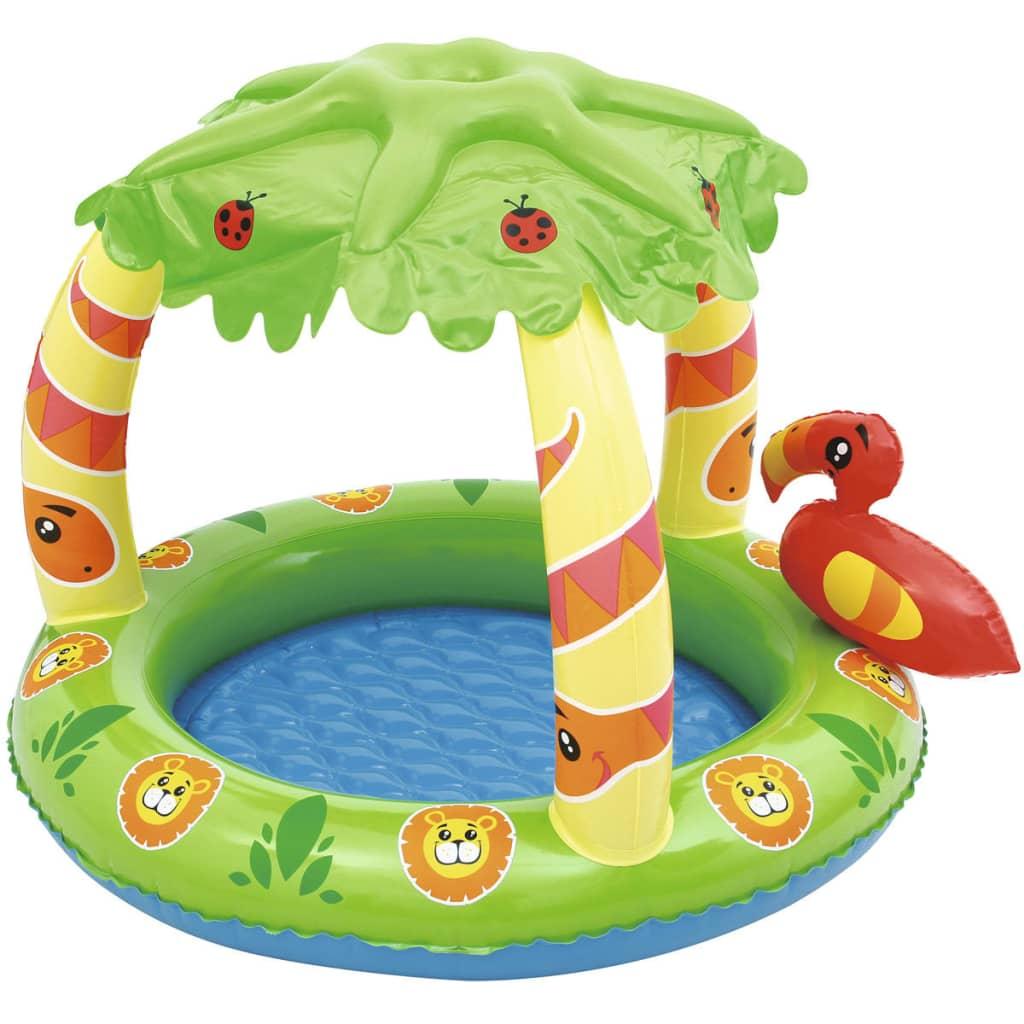 Bestway Nafukovací dětský bazének s UV ochranou Jungle 52179