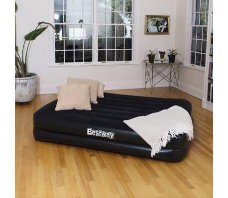 bestway lit pneumatique aeroluxe avec pompe int gr e 152 x 203cm 67403. Black Bedroom Furniture Sets. Home Design Ideas