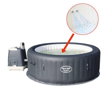 Bestway Lay Z Spa Palm Springs Hydrojet Whirlpool 54144 Günstig