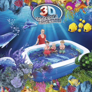Bestway Detský bazén s motívom podmorského sveta, 54177[4/9]