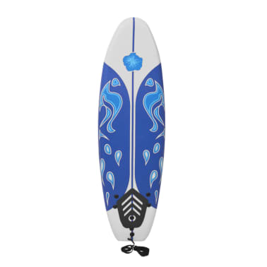 vidaXL Surfboard Blau 170 cm[2/7]