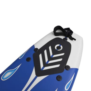 vidaXL Surfboard Blau 170 cm[5/7]