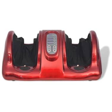 vidaXL Shiatsu masážní přístroj na chodidla červený[2/5]