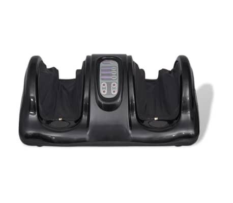 vidaXL Shiatsu Masažni Aparat za Stopala Črne Barve[2/5]