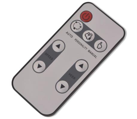 vidaXL Shiatsu masážní přístroj na nohy, černá[4/5]