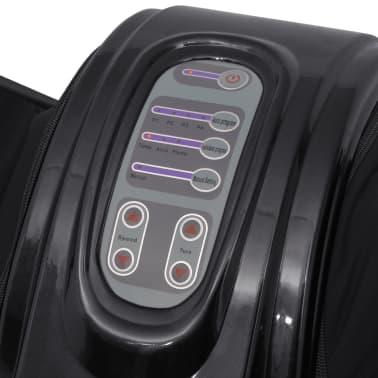 vidaXL Shiatsu masážní přístroj na nohy, černá[3/5]