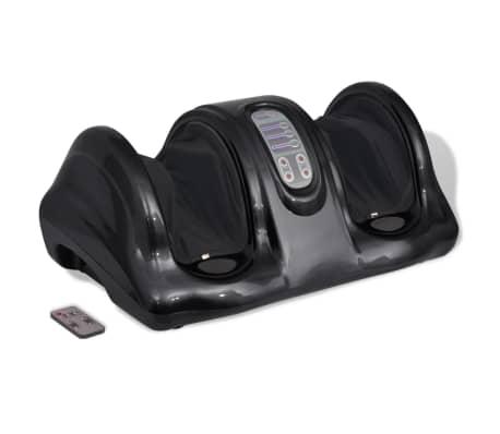 acheter vidaxl appareil de massage des pieds shiatsu noir pas cher. Black Bedroom Furniture Sets. Home Design Ideas