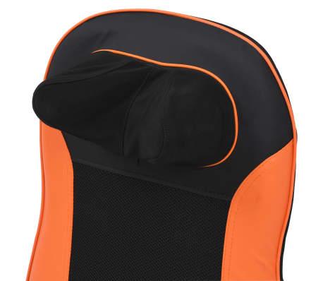 vidaXL Kaklo ir nugaros masažinė sėdynė, 48 W[6/11]