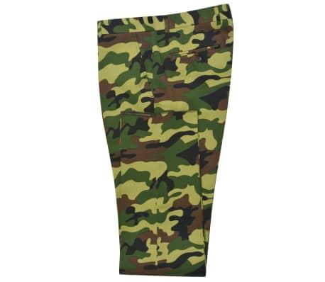 vidaXL 2-tlg. Herren-Anzug mit Krawatte Camouflage-Muster Größe 50[6/9]