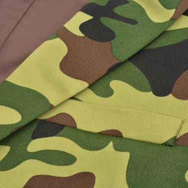 vidaXL 2-tlg. Herren-Anzug mit Krawatte Camouflage-Muster Größe 50[3/9]