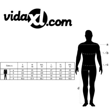 vidaXL Traje de vestir para hombre corbata 2 piezas camuflaje talla 50[9/9]