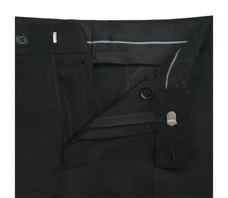 f83685628937 Handla vidaXL Tvådelad kostym frack herrar strl. 46 svart | vidaXL.se
