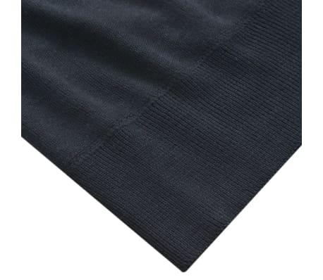 vidaXL Herren Pullover Sweater Rundhals Marineblau M[3/5]