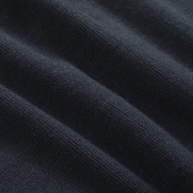 vidaXL Herregenser rund hals marineblå XL[4/5]