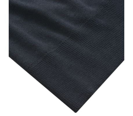 vidaXL Men's Pullover Sweater V-Neck Navy XL[3/5]