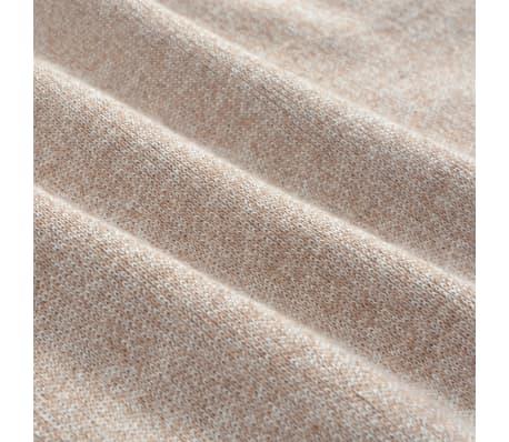vidaXL Jersey de hombre cuello de pico beige XL[3/4]