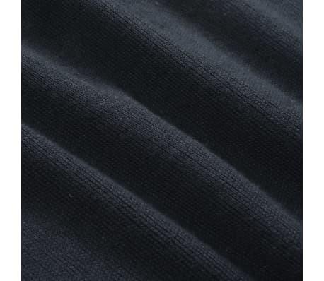 vidaXL Tröja med dragkedja herr marinblå XL[4/5]