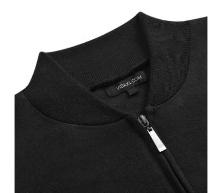 vidaXL Cardigan menn svart L[2/5]