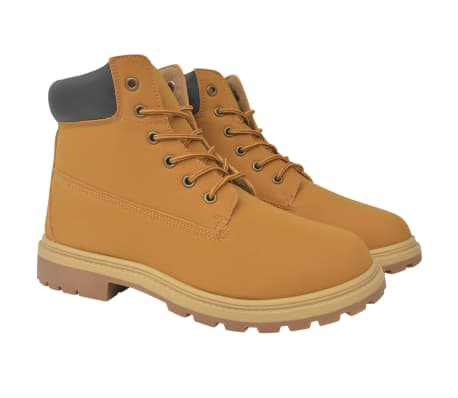 vidaXL Pánske topánky, farba Camel, veľkosť 44
