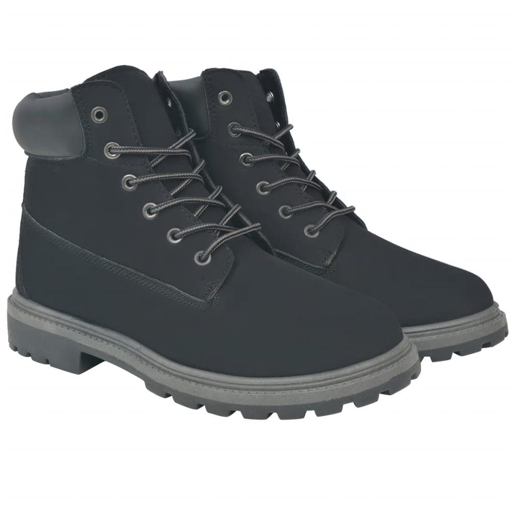 f66dccc141a vidaXL Pánské kotníkové boty černé vel. 44