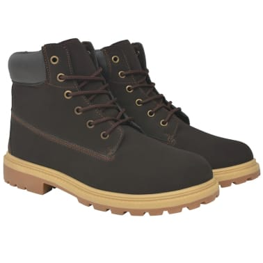 vidaXL Vyriški batai, rudi, dydis 40[1/7]
