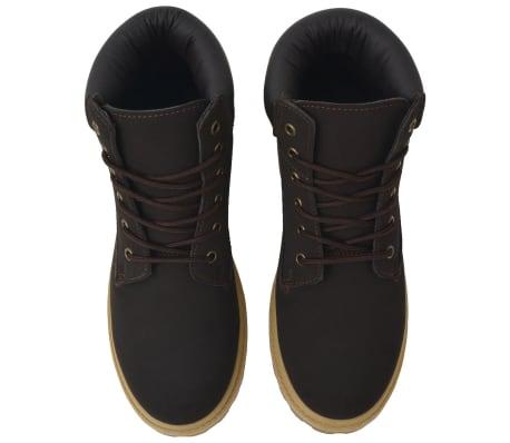 vidaXL Vyriški batai, rudi, dydis 40[2/7]