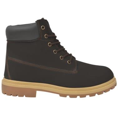 vidaXL Vyriški batai, rudi, dydis 40[3/7]