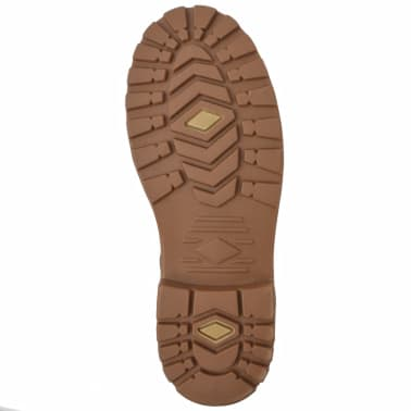 vidaXL Vyriški batai, rudi, dydis 40[5/7]