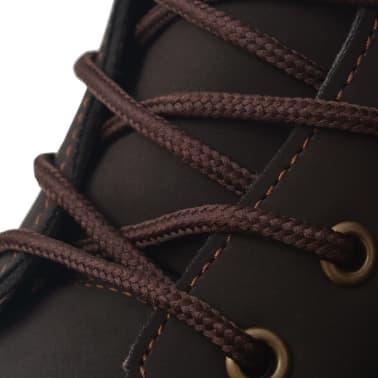 vidaXL Vyriški batai, rudi, dydis 40[6/7]