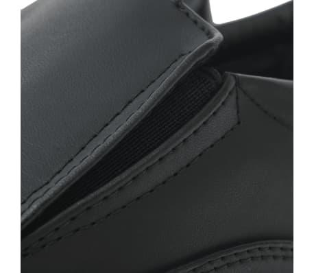 vidaXL Férfi félcipő fekete 43 mas méret PU bőr