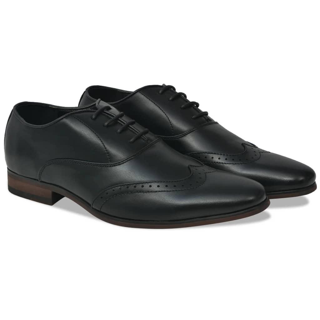 999131781 Business-Schuhe Herren Brogue-Schuhe Schwarz Größe 41 PU-Leder