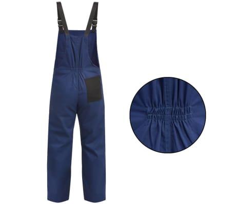vidaXL Mono de trabajo de hombre talla XL azul[2/5]