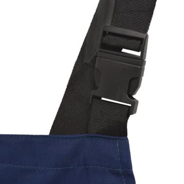 vidaXL Mono de trabajo de hombre talla XL azul[3/5]