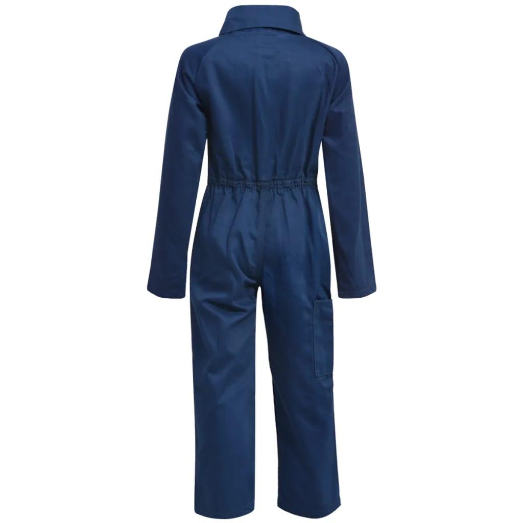 vidaXL Dětské montérky kombinéza 98/104 modré